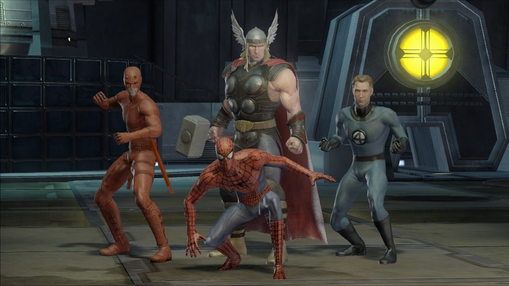 Marvel Ultimate Alliance gameplay