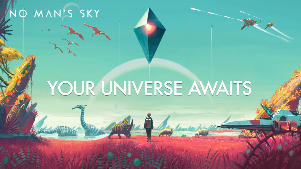 No Man's Sky The Universe Awaits