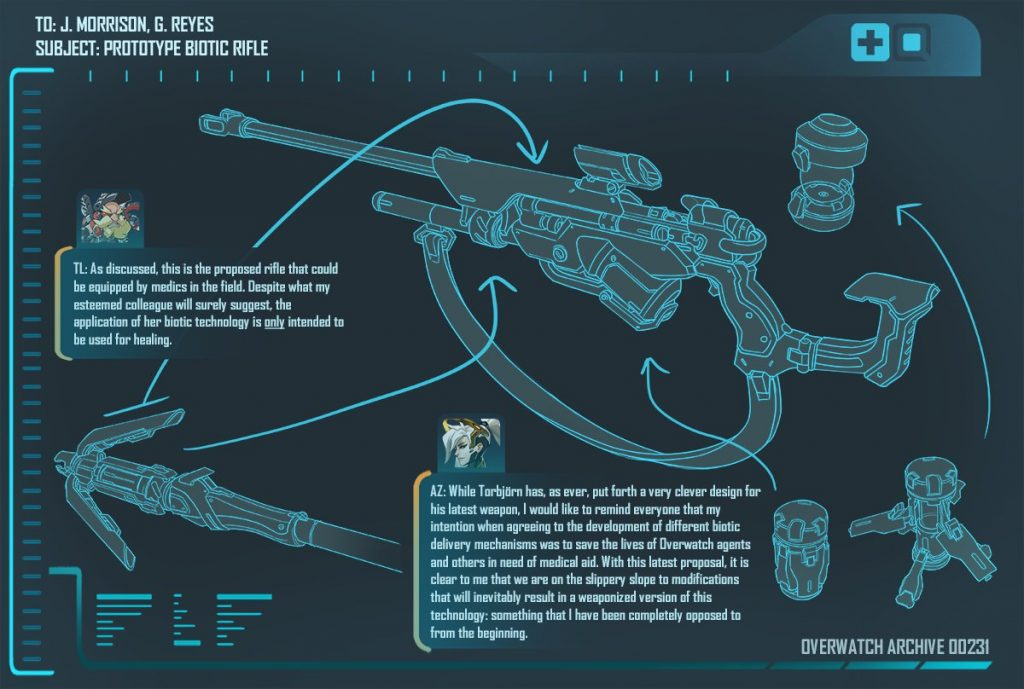 Overwatch Rifle