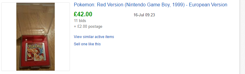 Pokemon Fire Red new price