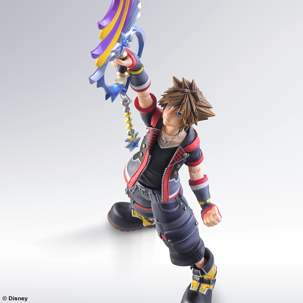 Play Arts Kai Kingdom Hearts III Sora Figure Review - YouTube