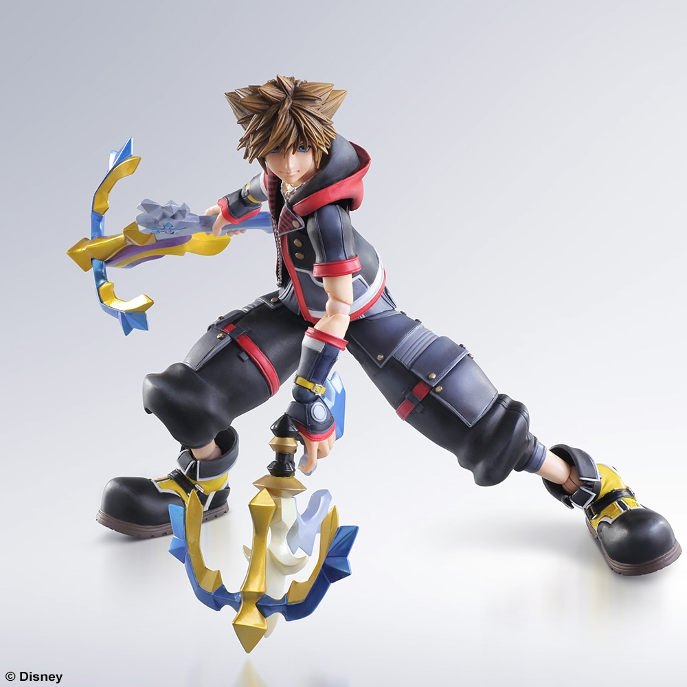 KINGDOM HEARTS III PLAY ARTS -KAI- SORA [ACTION …