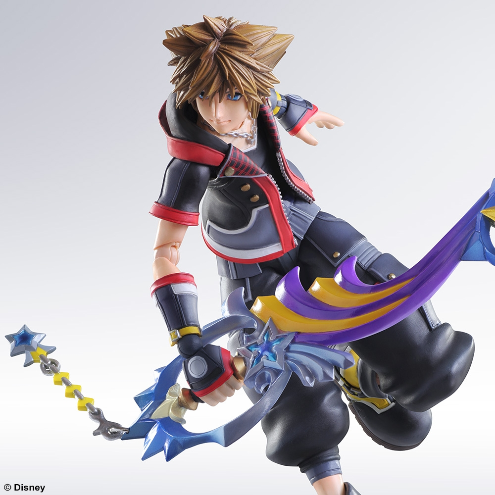 KINGDOM HEARTS II BRING ARTS SORA CHRISTMAS TOWN …