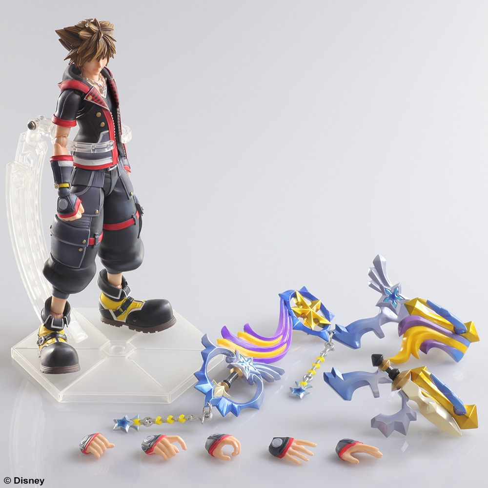 Kingdom Hearts III Play Arts Kai: Sora - Play-Asia.com
