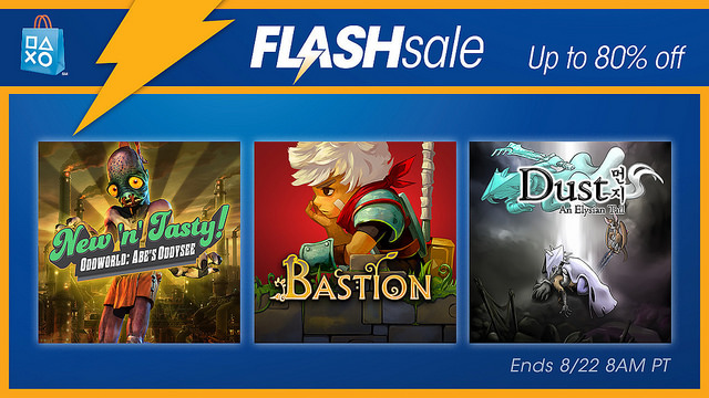 PlayStation Flash Sale August 2016
