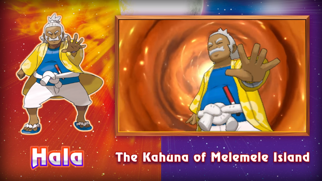 Pokemon Sun & Moon The Kahuna of Melemele Island