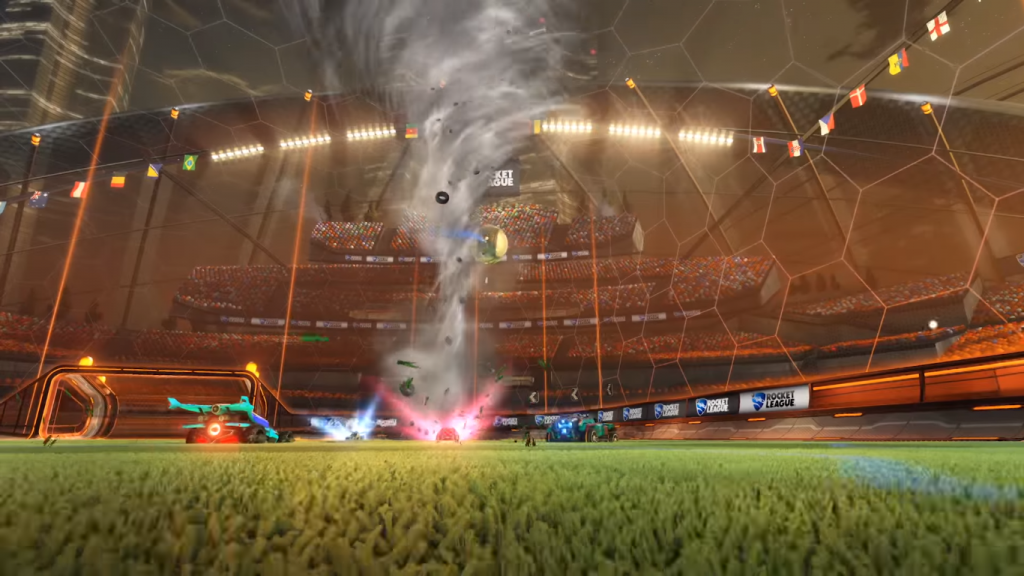 Rocket League Rumble Mode Tornado