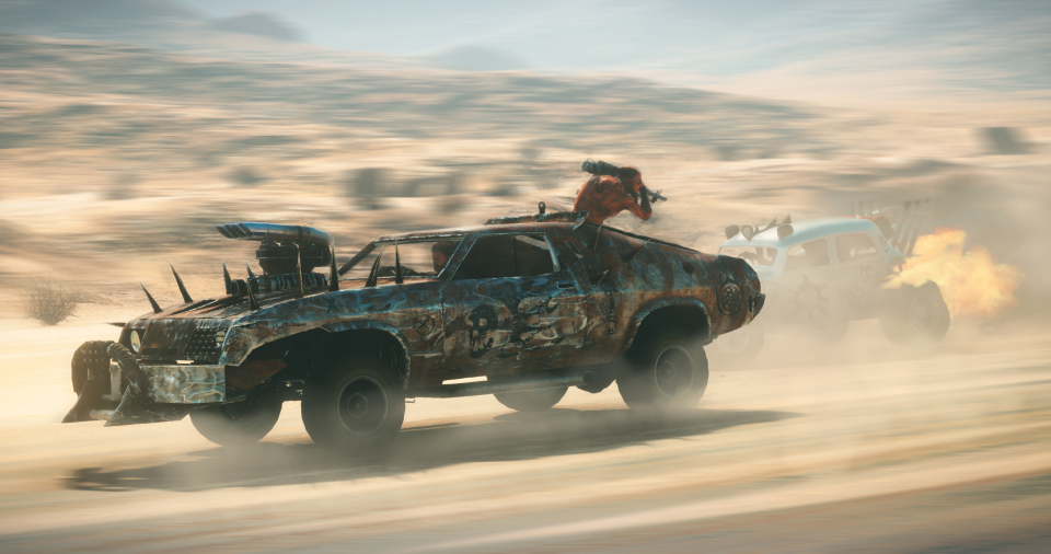 Mad Max Game Best Car Body