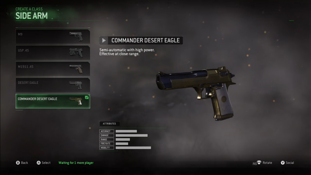 call-of-duty-modern-warfare-remastered commander desert eagle