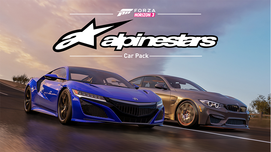 new trailer released for forza horizon 3 alpinestars car pack. Black Bedroom Furniture Sets. Home Design Ideas