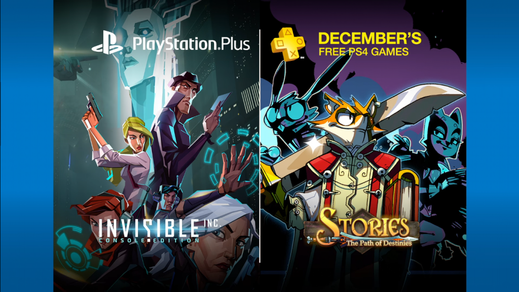 PlayStation Plus December 2016 Free Titles Lineup