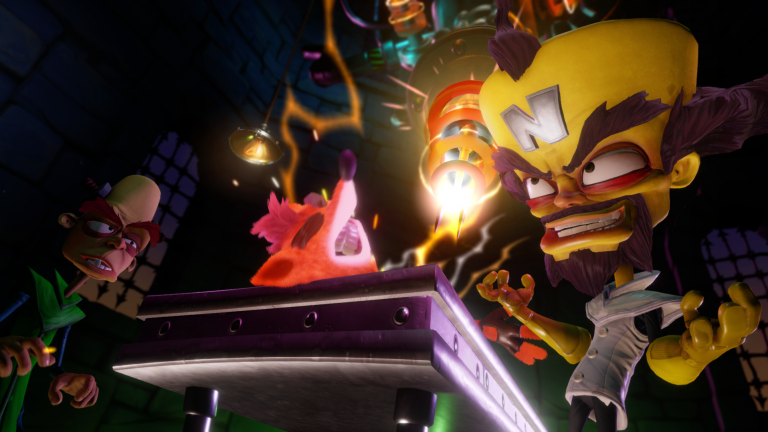 Sane Trilogy Gameplay Video Shows Crash Bandicoot Warped