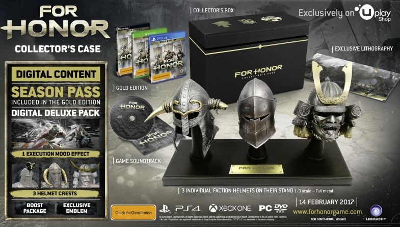 For Honor Uplay Collector's Edition