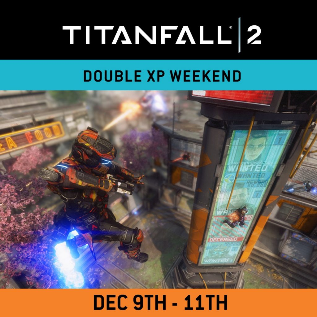 Titanfall 2 Double XP weekend