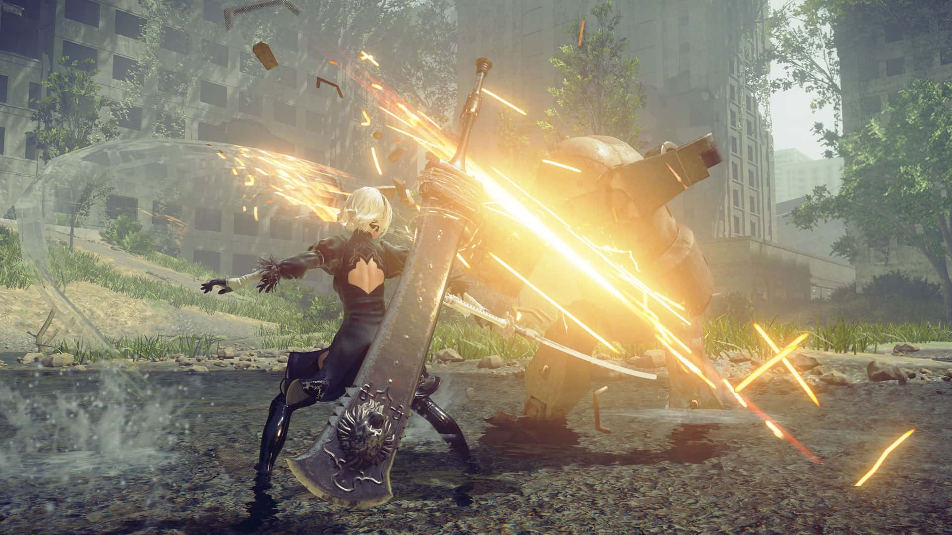 Automata Demo Available for Free on PlayStation Store — Nier