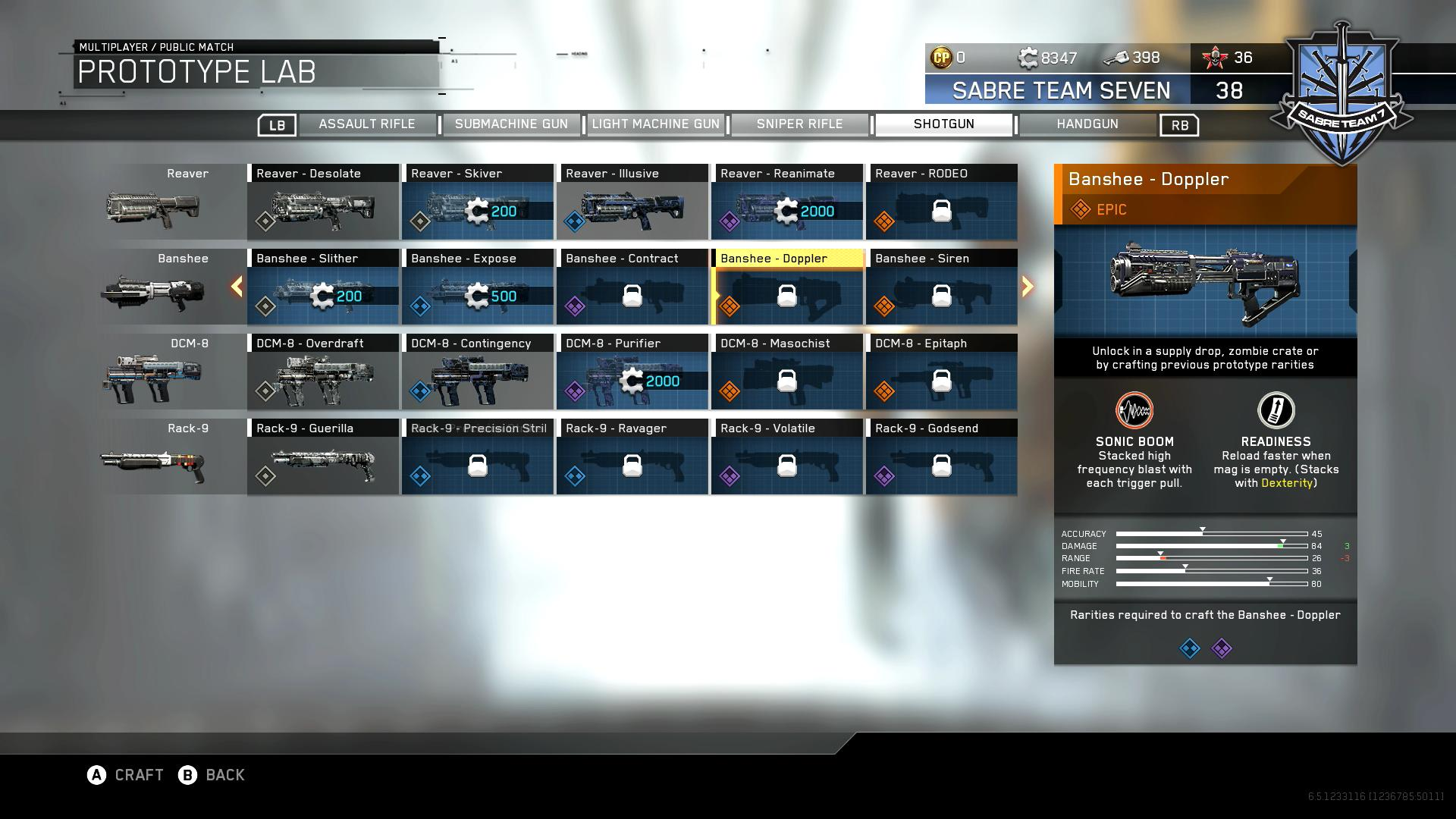 We can now get a look at all the 12 weapon variants thanks to reddit