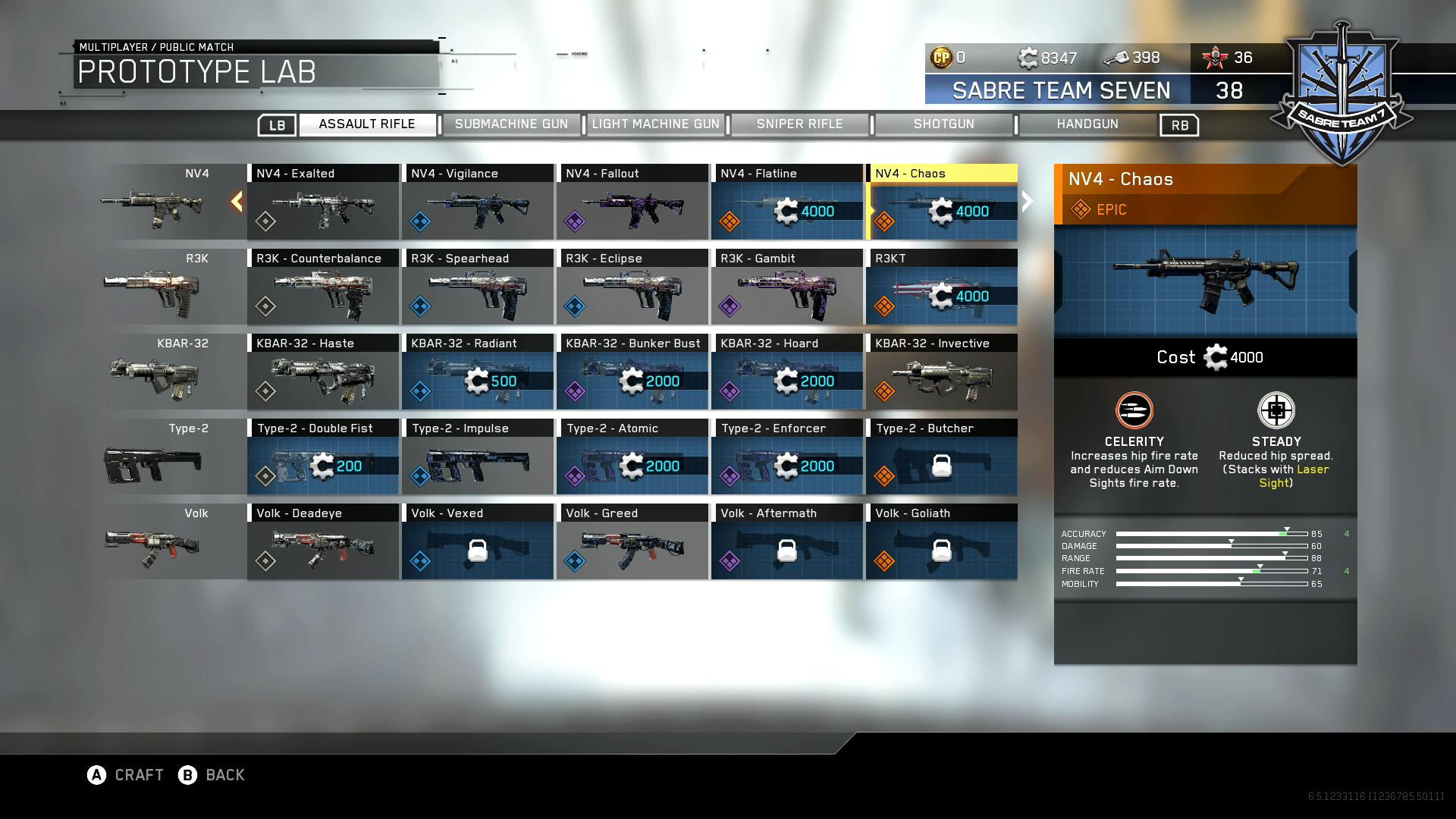 Call of duty infinite warfare all new weapon variants stats and