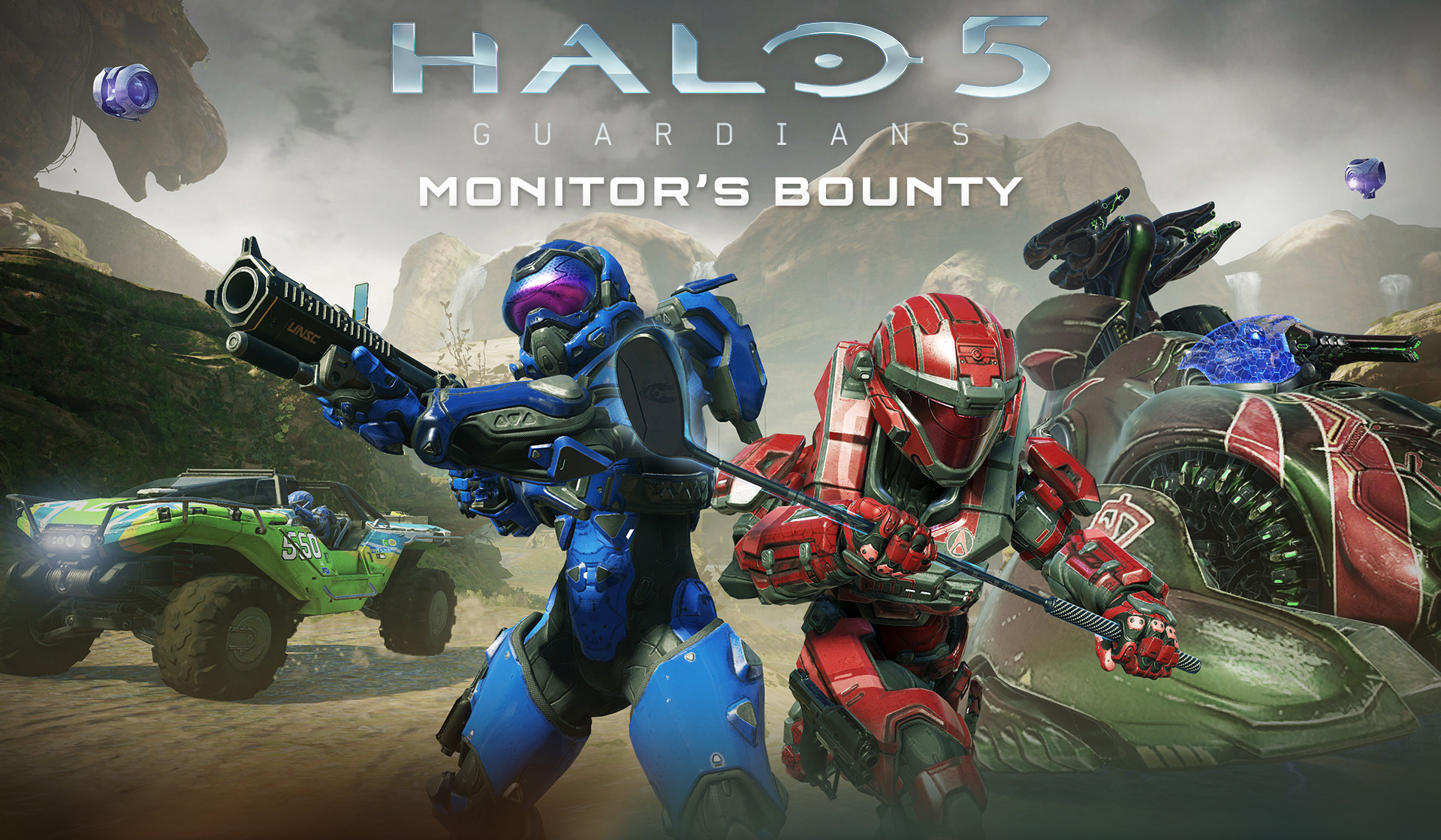 Monitor S Bounty Expansion Announced For Halo 5 Guardians