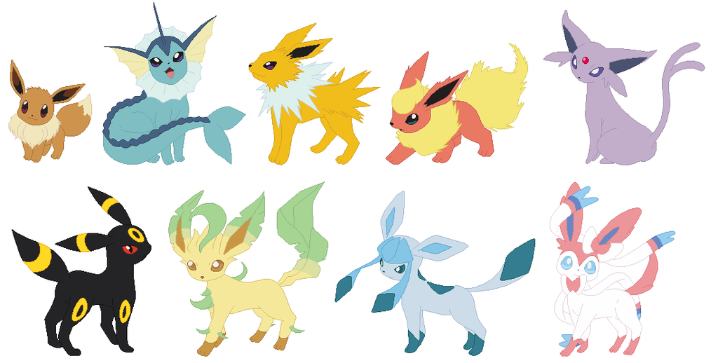 Pokemon Sun and Moon Eeveelution