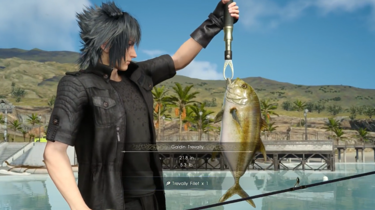 final fantasy xv how to get the best fishing gear in the game