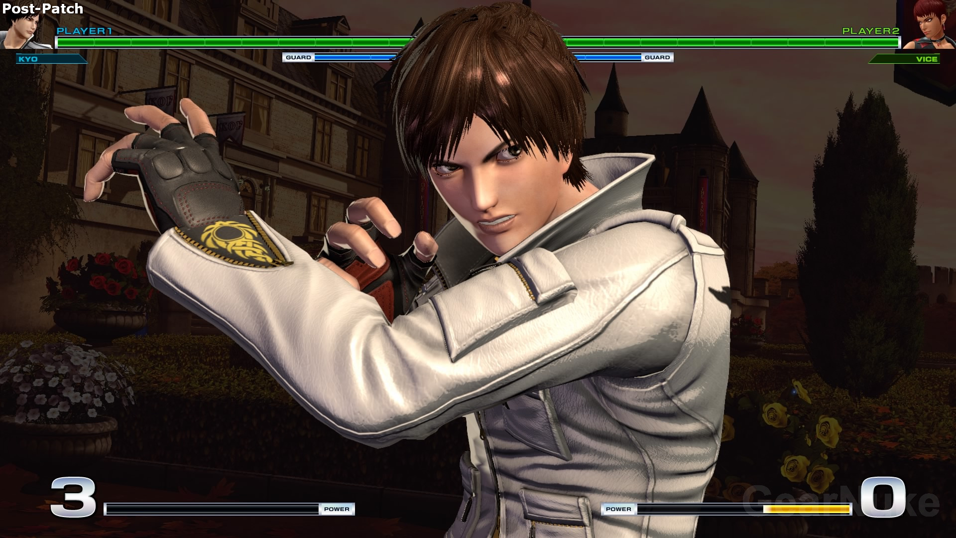 In the first set of comparison pics we take a closer look at the character models when executing their specials or victory pose.  sc 1 st  GearNuke & The King of Fighters XIV Patch 1.09 vs. 1.10 Comparison Shows ... azcodes.com