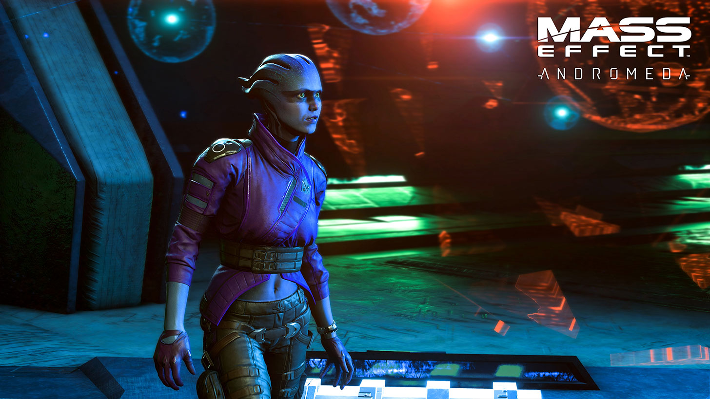 Andromeda's Day One Patch Won't Fix Characters' Strange Facial Animations