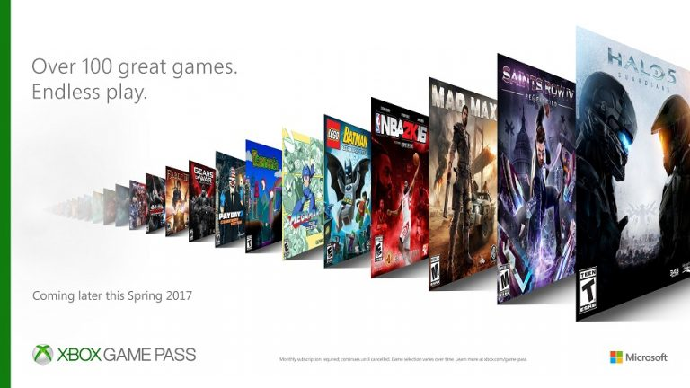 Microsoft launches Xbox Game Pass