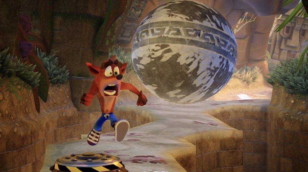 New Crash Bandicoot N. Sane Trilogy gameplay video features Tomb Wader level playthrough