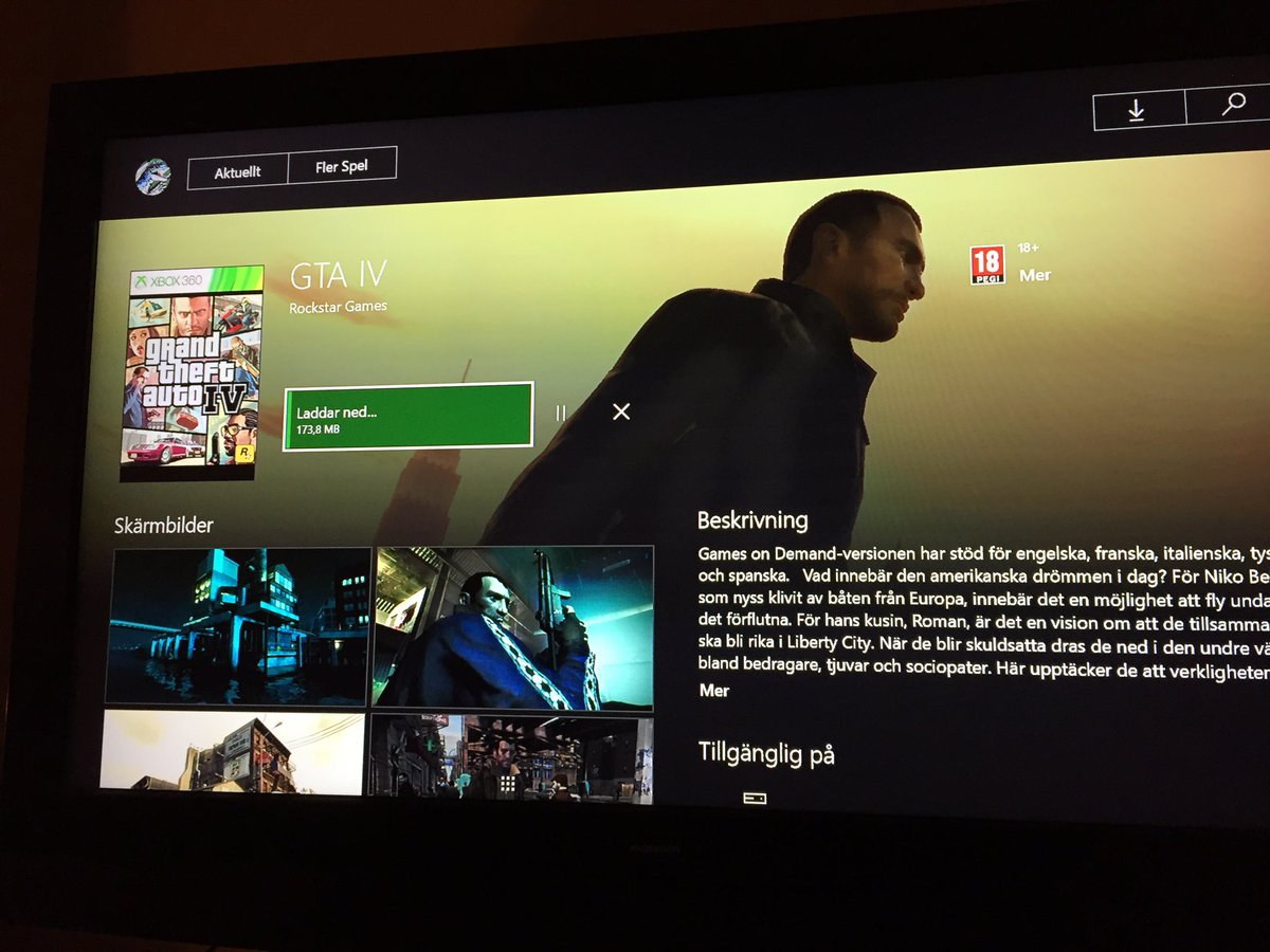 GTA IV And Episodes From Liberty City Now Backwards Compatible On Xbox One
