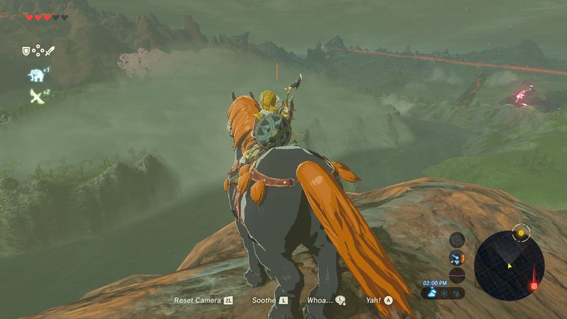 The Legend of Zelda: Breath of the Wild Giant Horse