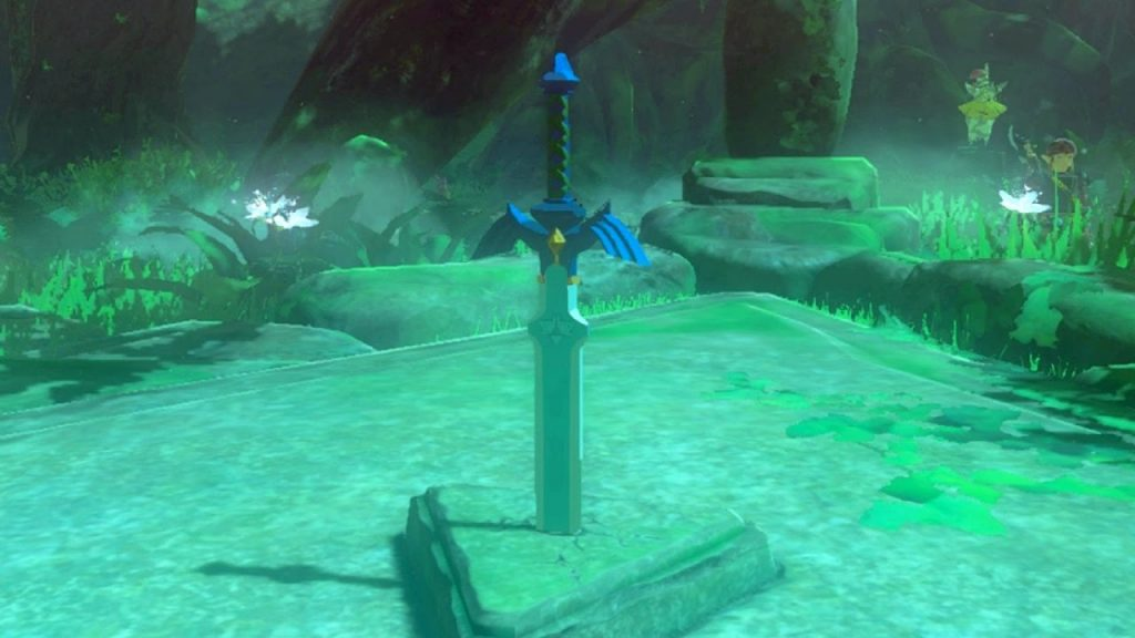 Zelda Breath Of The Wild How To Obtain The Master Sword