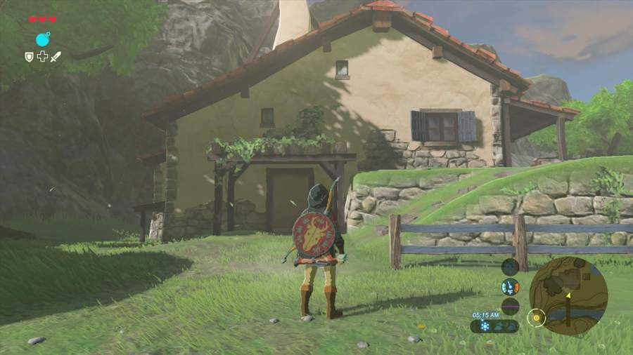 Zelda breath of the wild how to buy a house for link for Housse zelda switch