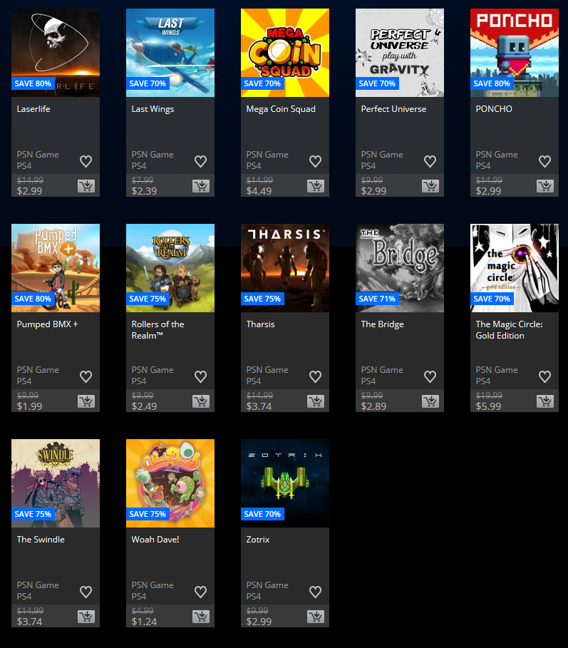 Flash Games For Ps3 : Us playstation store flash sale is live upto discount