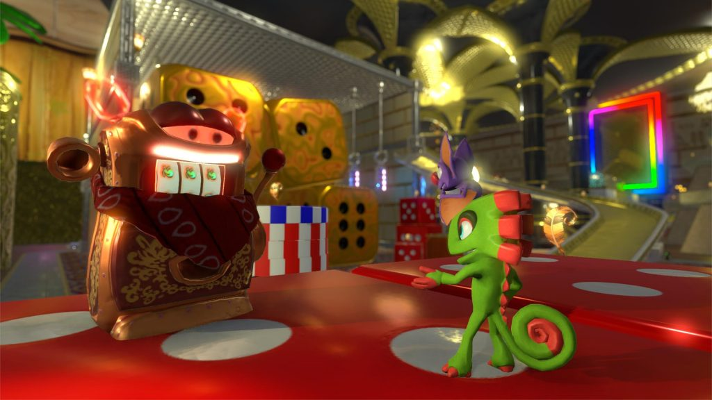 Yooka-Laylee Capital Cashino