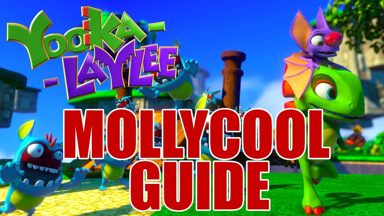 Yooka Laylee Guide Mollycool Locations For Every World Ps4