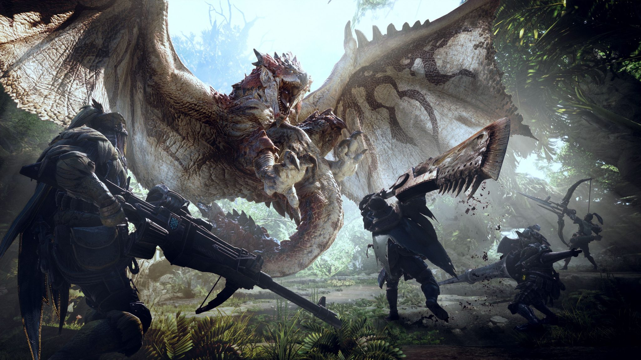 Monster Hunter World coming to PS4 and more