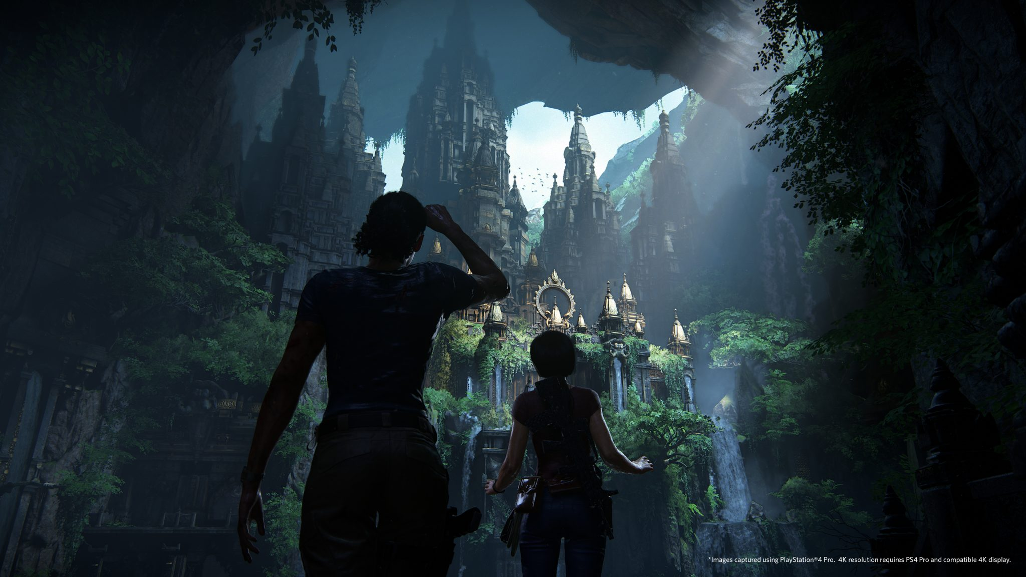 Uncharted: The Lost Legacy 4K PS4 Pro Screens Look Like ...