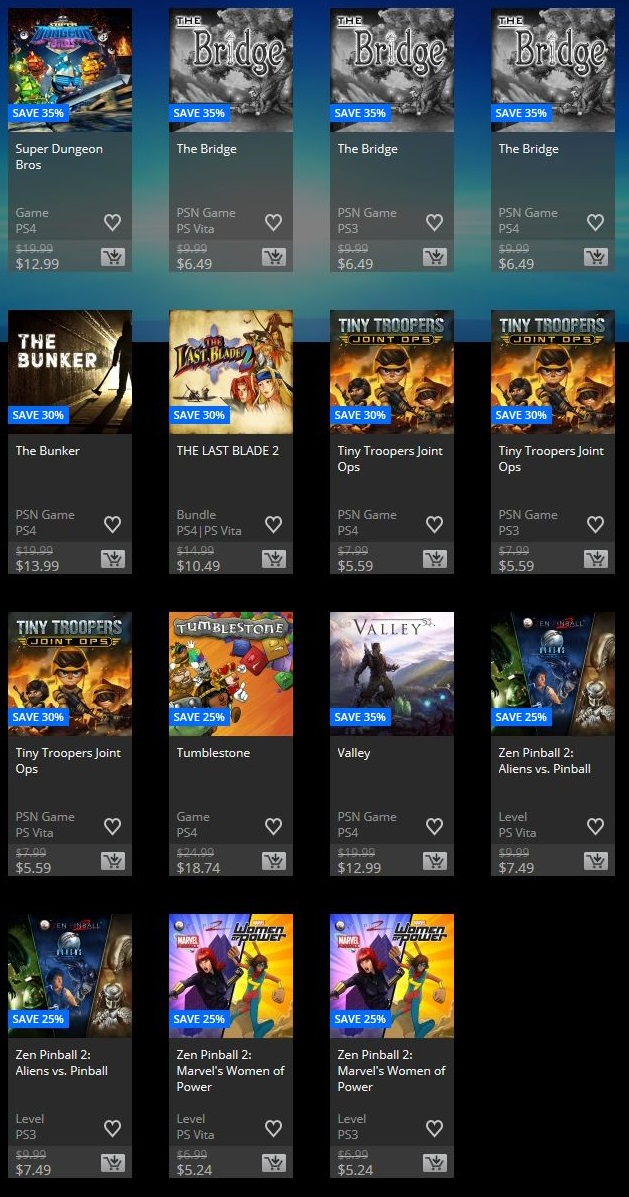 Playstation store discount - Saltworks promo code