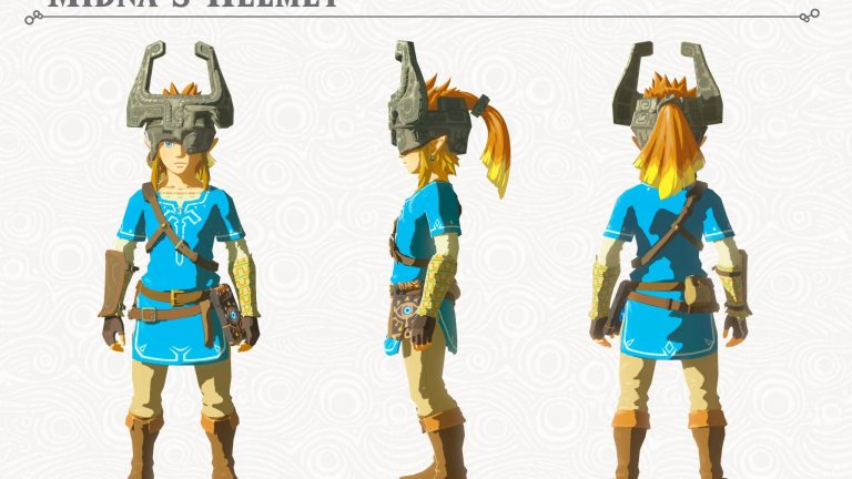 Zelda: Breath of the Wild Midna's Helmet