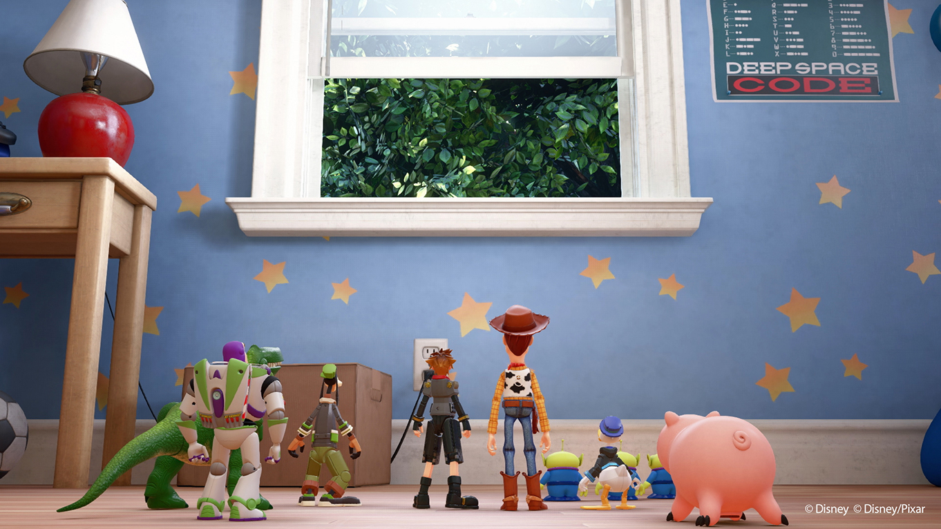 Toy Story Graphics In Kingdom Hearts 3 Look Mighty