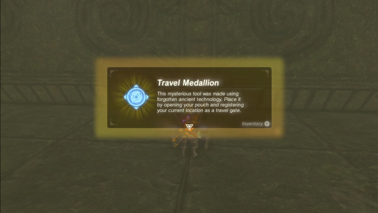 Zelda: Breath of the Wild: How To Find The Travel Medallion
