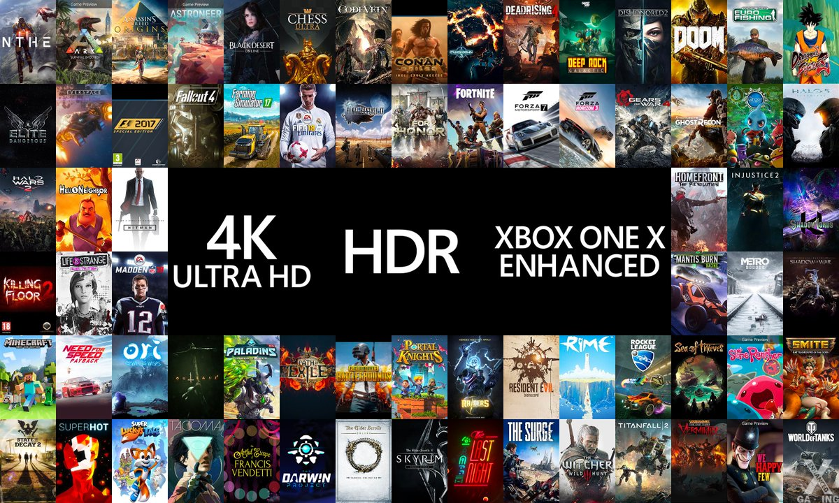 All Games For Xbox 1 : Here s a list of games confirmed to be enhanced for xbox one x