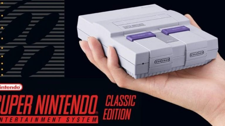 Nintendo opens pre-orders for $80 Super NES Classic Edition