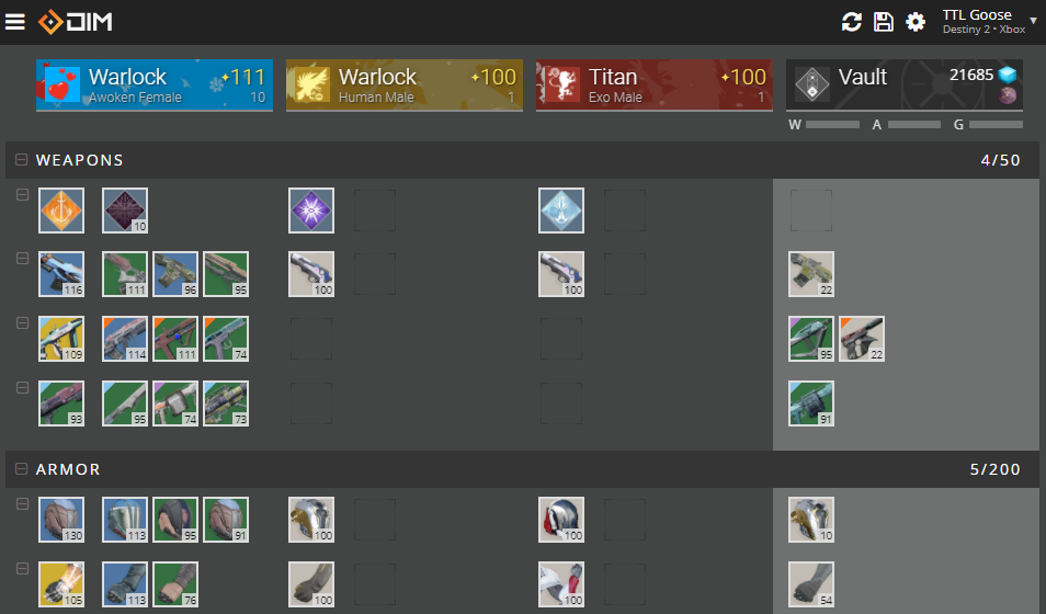 Will there be a trading system in destiny