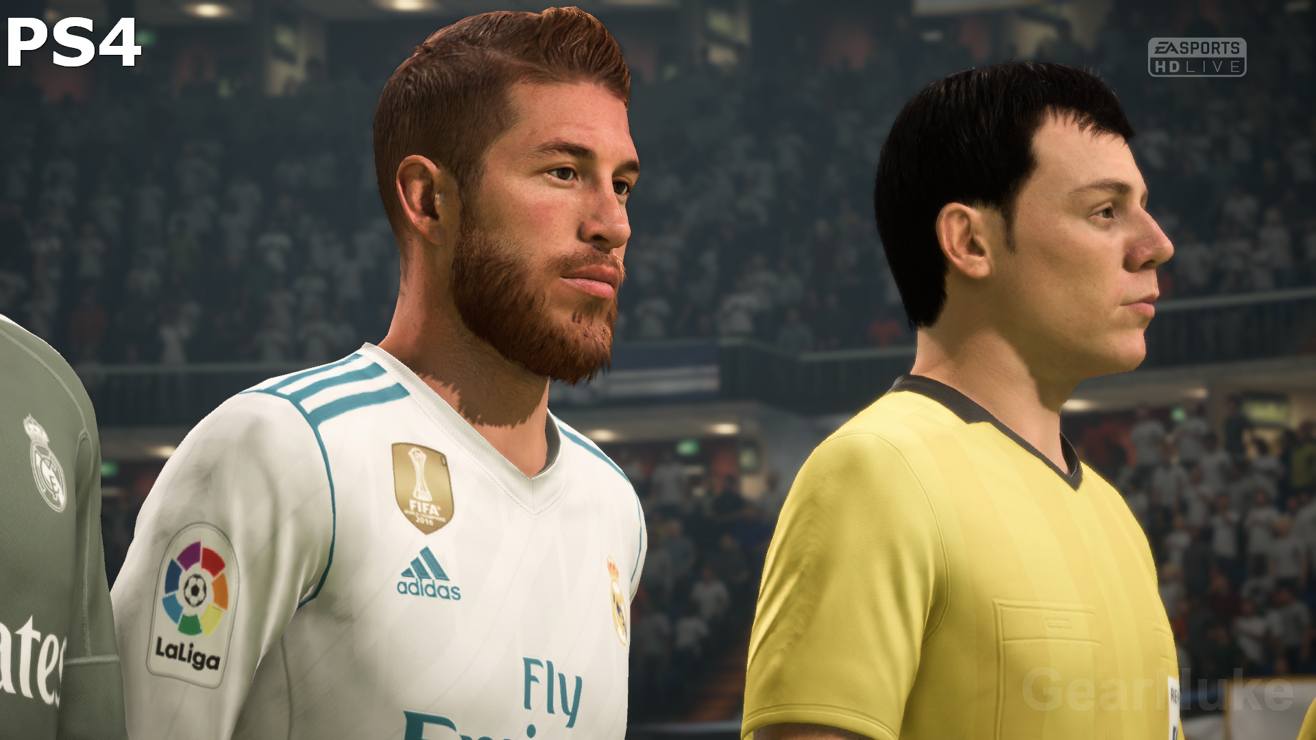 FIFA 18 Appears To Render At 4K Resolution On The PS4 Pro But It Is Hard Determine Whether Checkerboard Rendering Or Native