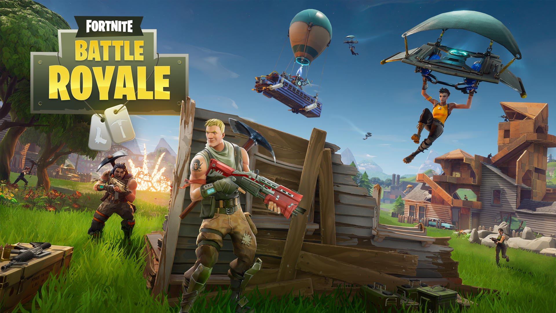 fortnite pc download battle royale