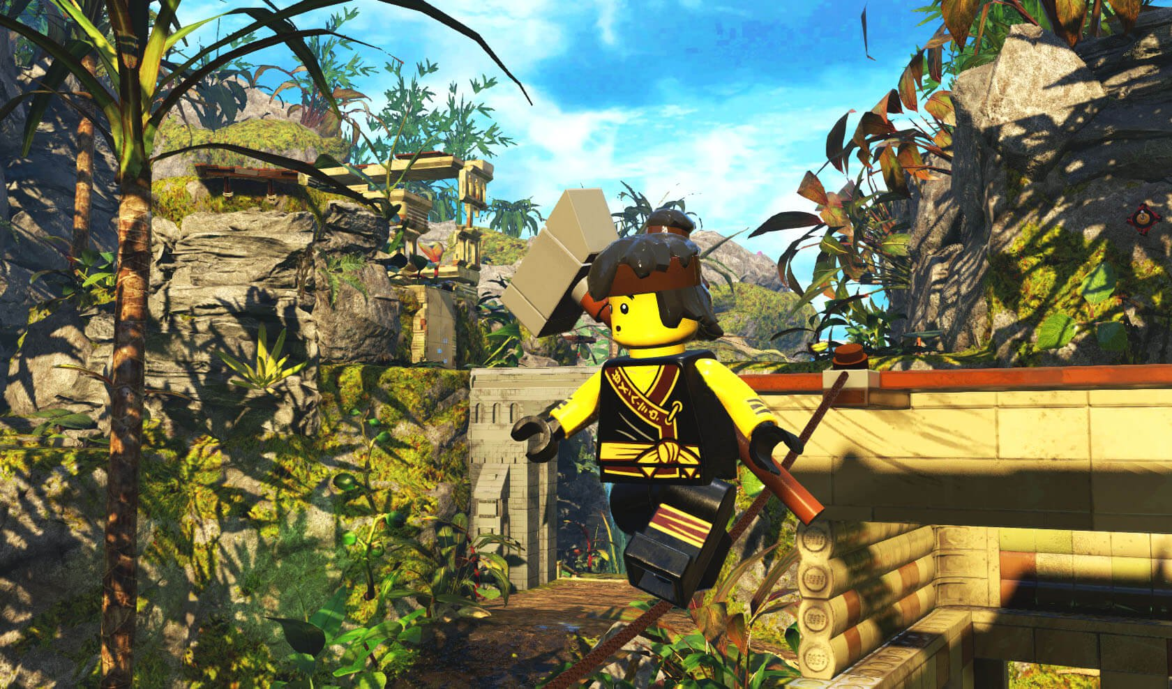 the lego ninjago movie video game review switch