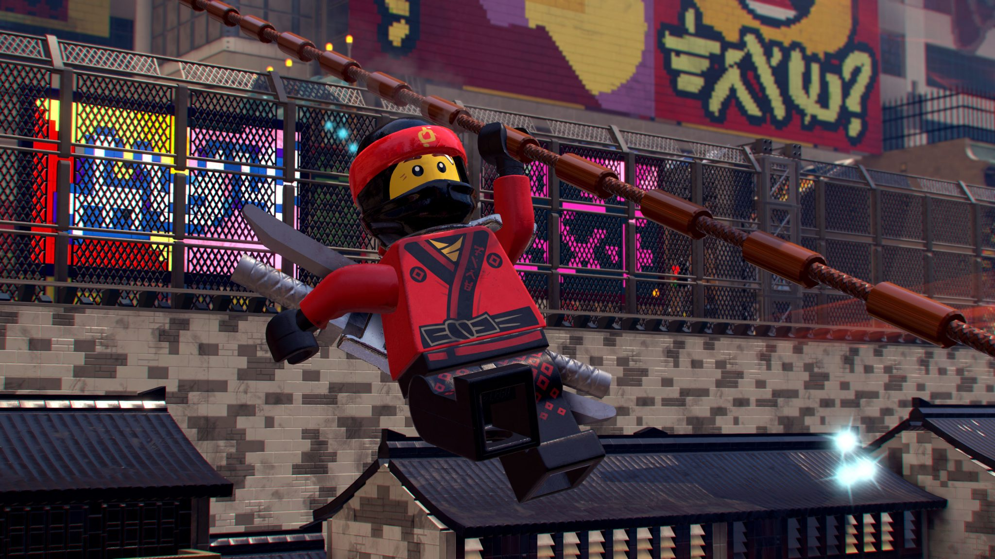 the lego ninjago movie video game review switch. Black Bedroom Furniture Sets. Home Design Ideas