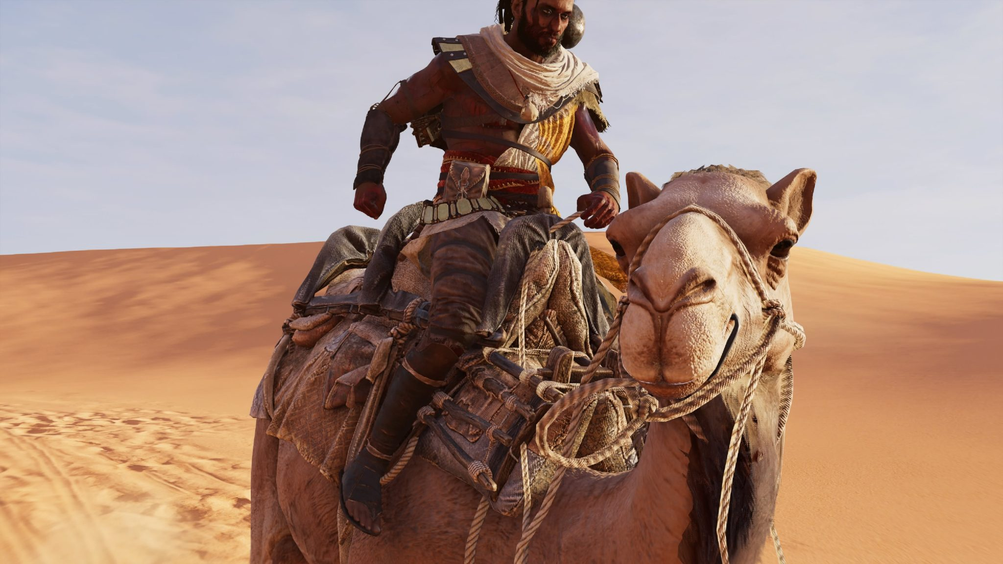 Check Out Assassin S Creed Origins Gameplay From The Ps4 Pro