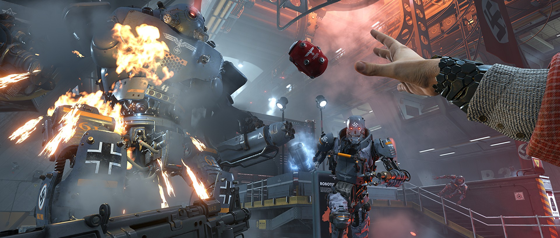 Wolfenstein 2 The New Colossus Officially Announced